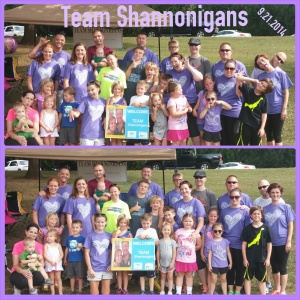 Team Shannonigans 2014 (Maryville, TN)